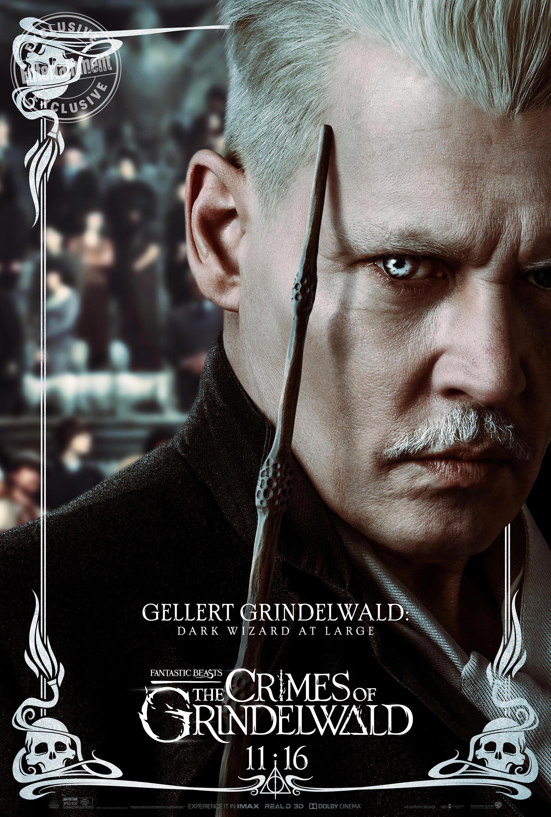 Gellert Grindelwald en 'Animales fantásticos: Los Crímenes de Grindelwald'