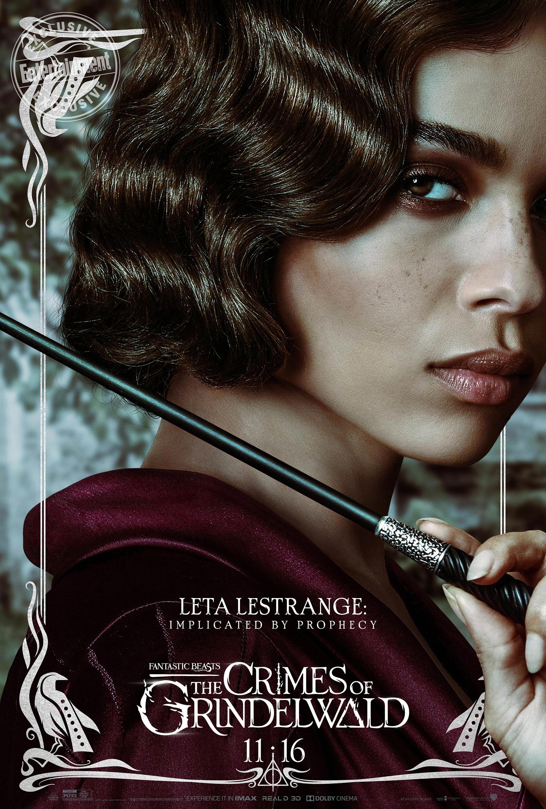 Leta Lestrange en 'Animales fantásticos: Los Crímenes de Grindelwald'