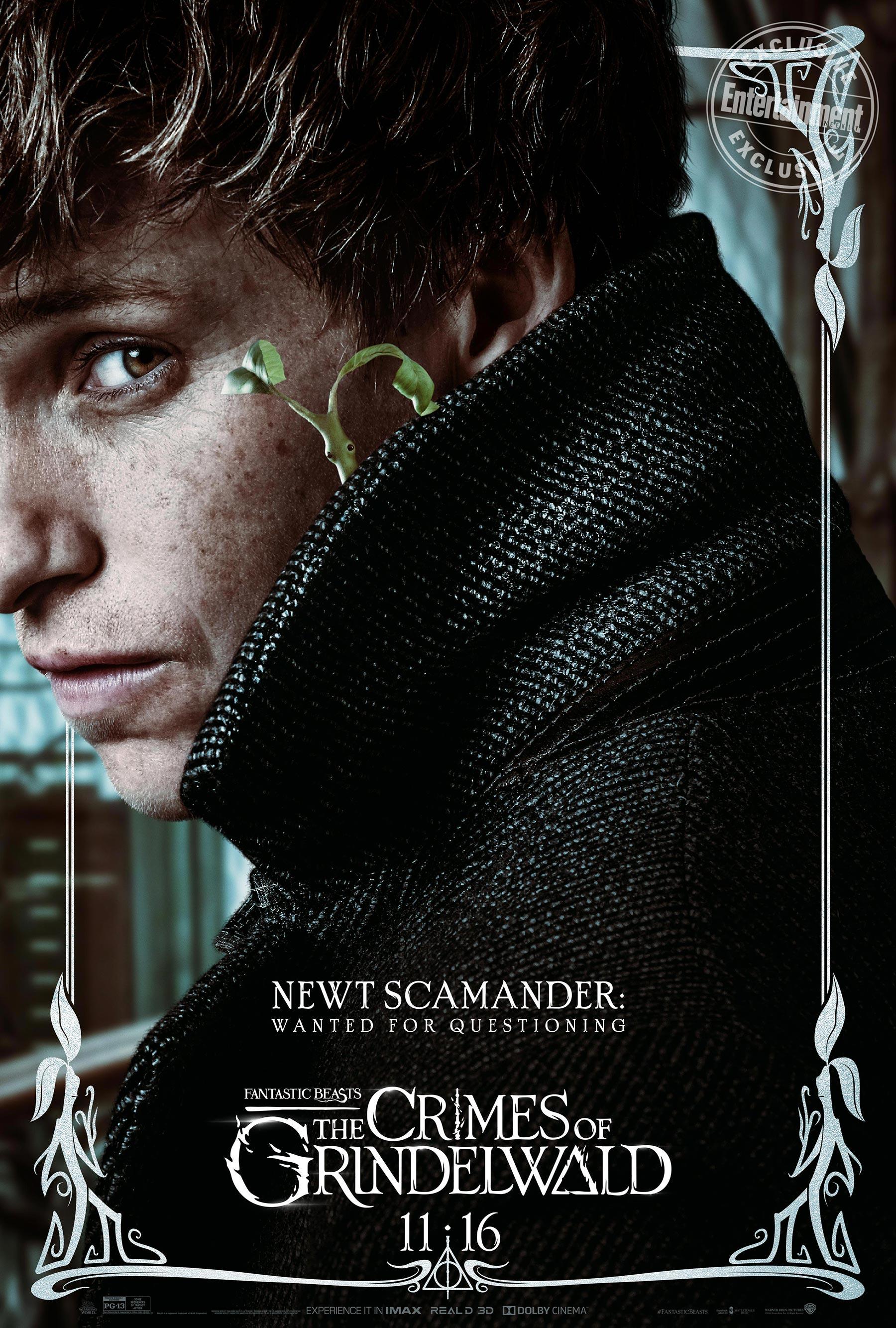 Newt Scamander en 'Animales fantásticos: Los Crímenes de Grindelwald'