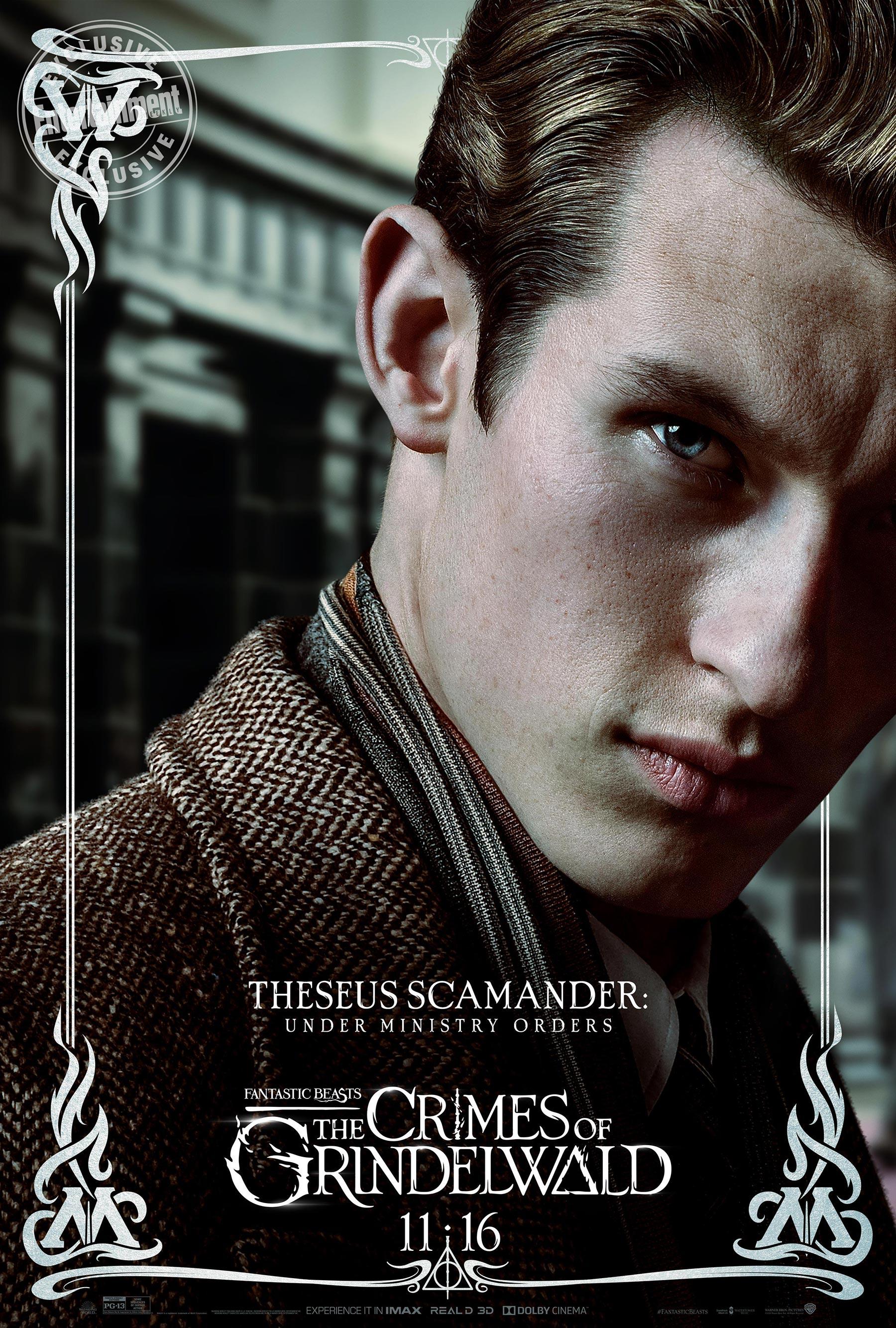 Theseus Scamander en 'Animales fantásticos: Los Crímenes de Grindelwald'