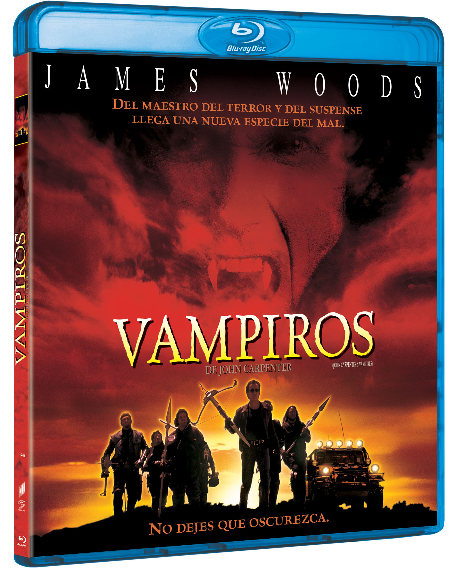 'Vampiros' en Blu-ray