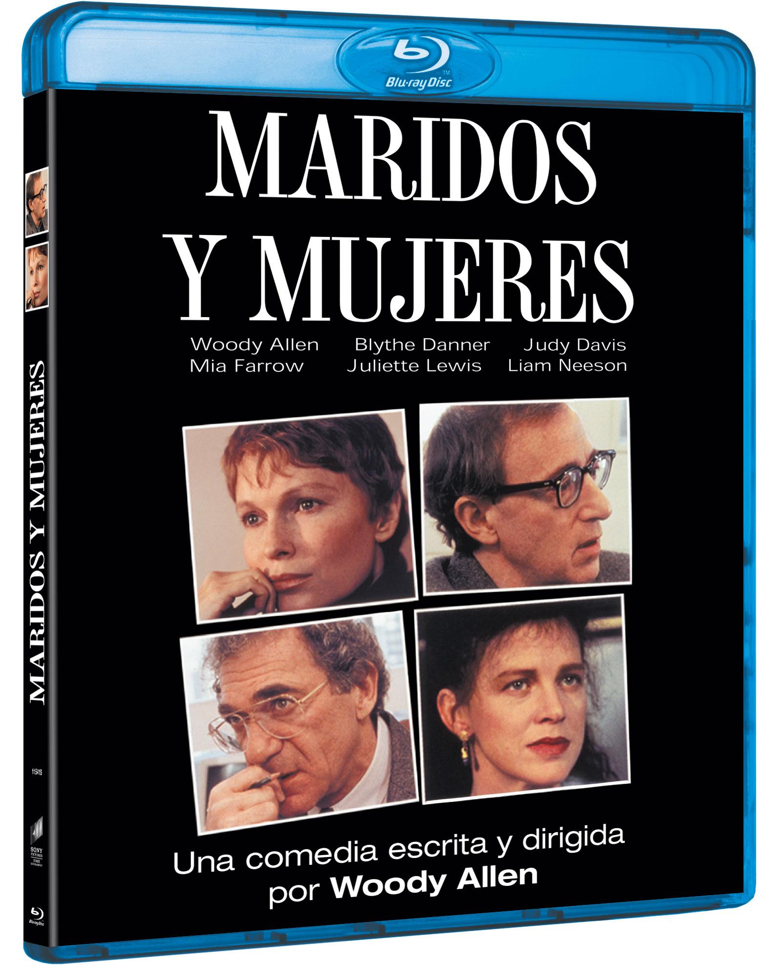 'Maridos y mujeres' en Blu-ray
