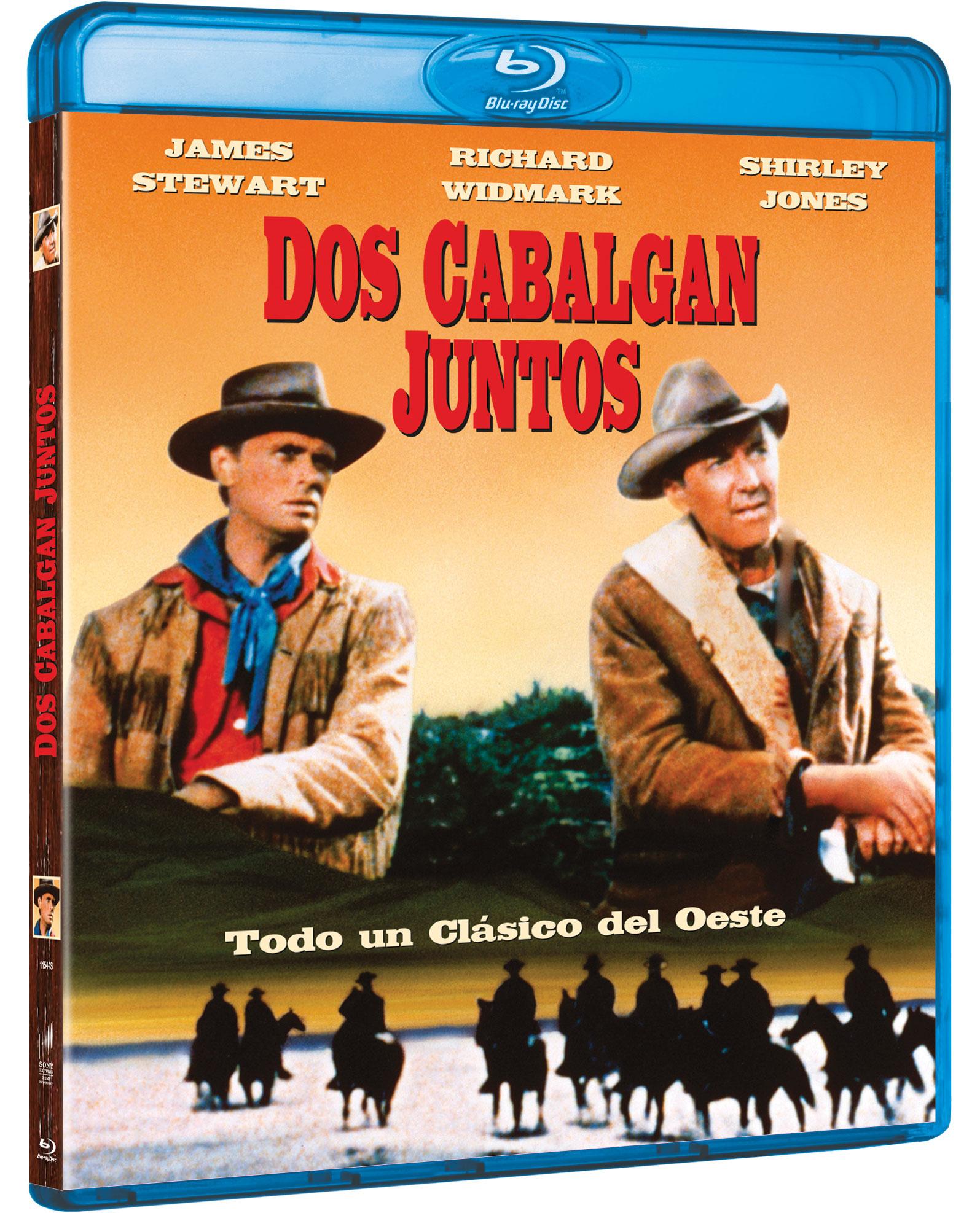 'Dos cabalgan juntos' en Blu-ray