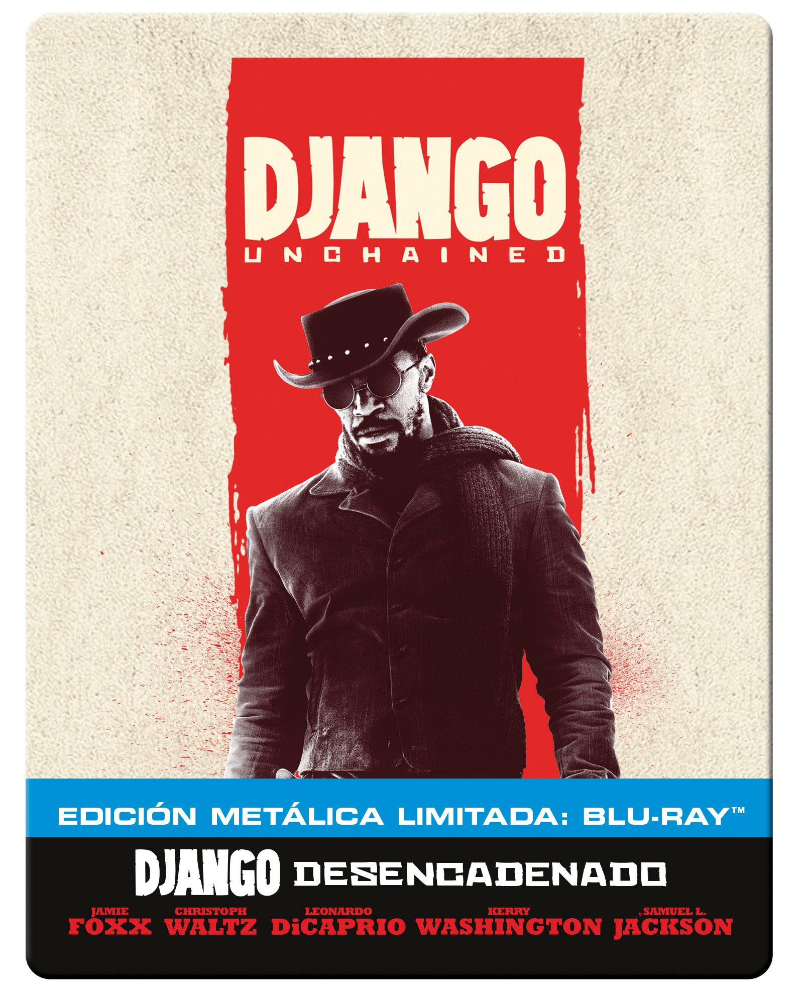 Django Desencadenado - Steelbook Blu-ray