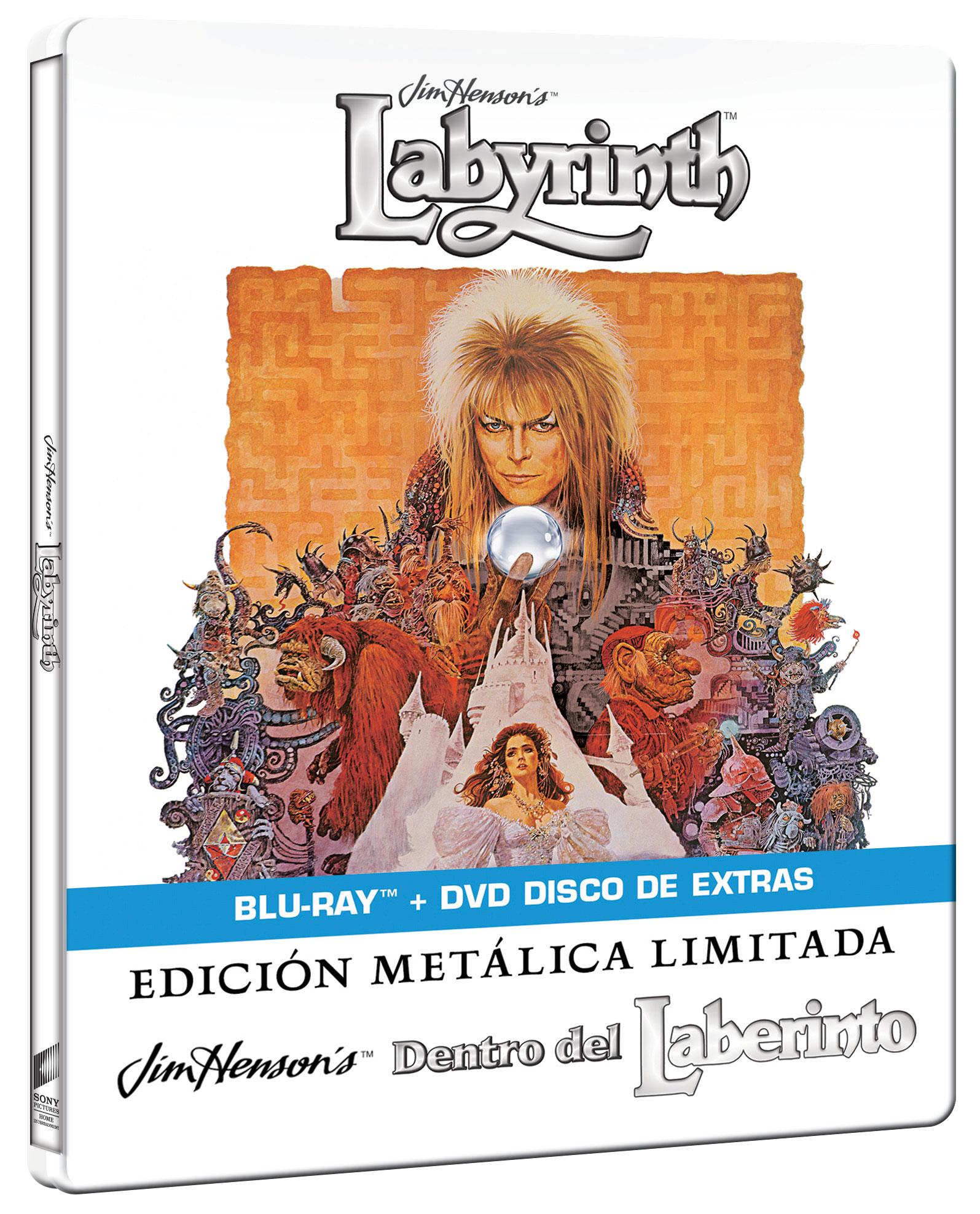 Dentro del laberinto - Steelbook Blu-ray