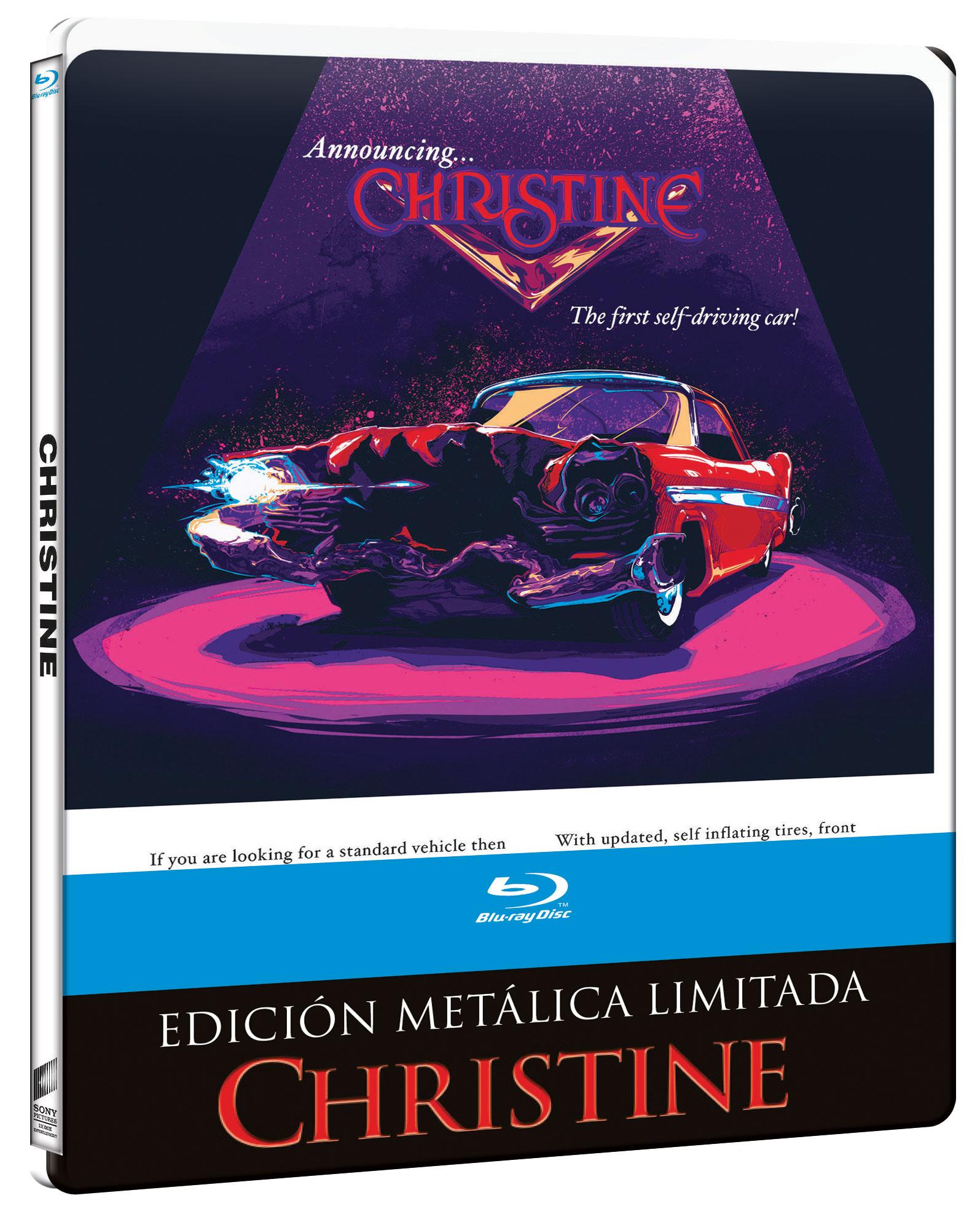 Christine - Steelbook Blu-ray