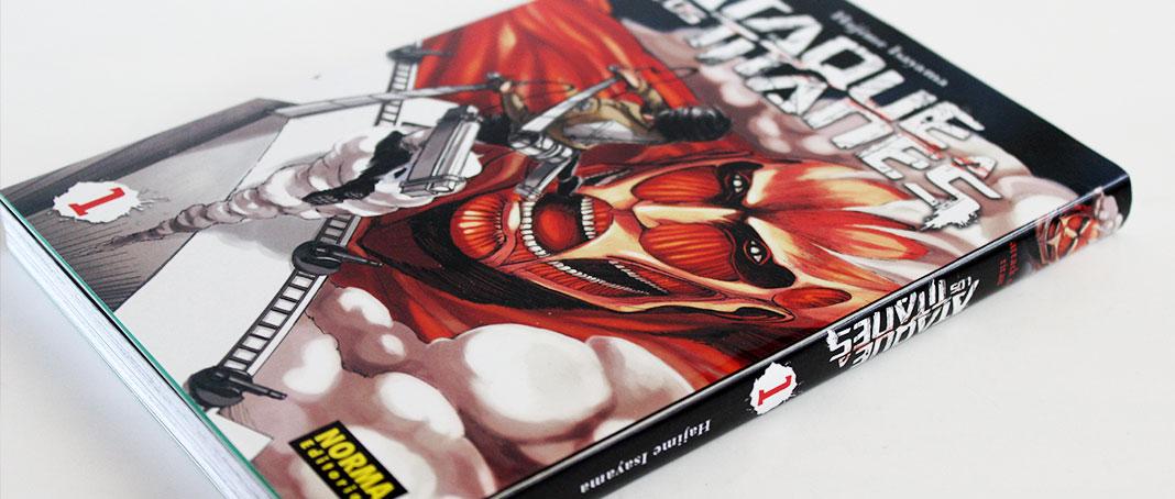 'Ataque a los titanes' - Manga Tomo 1