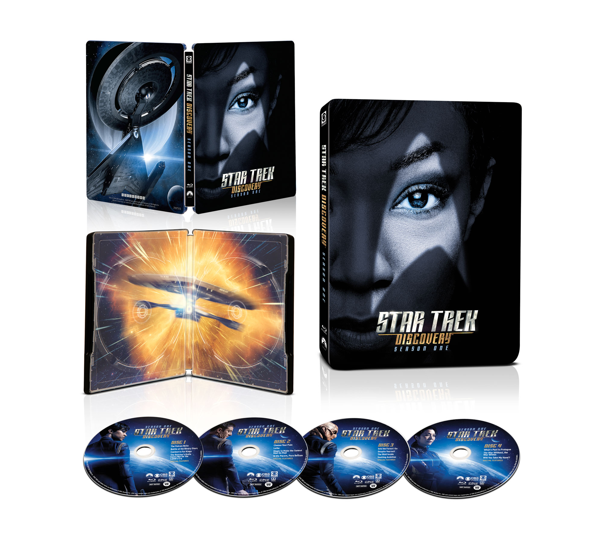 'Star Trek: Discovery' Steelbook Blu-ray
