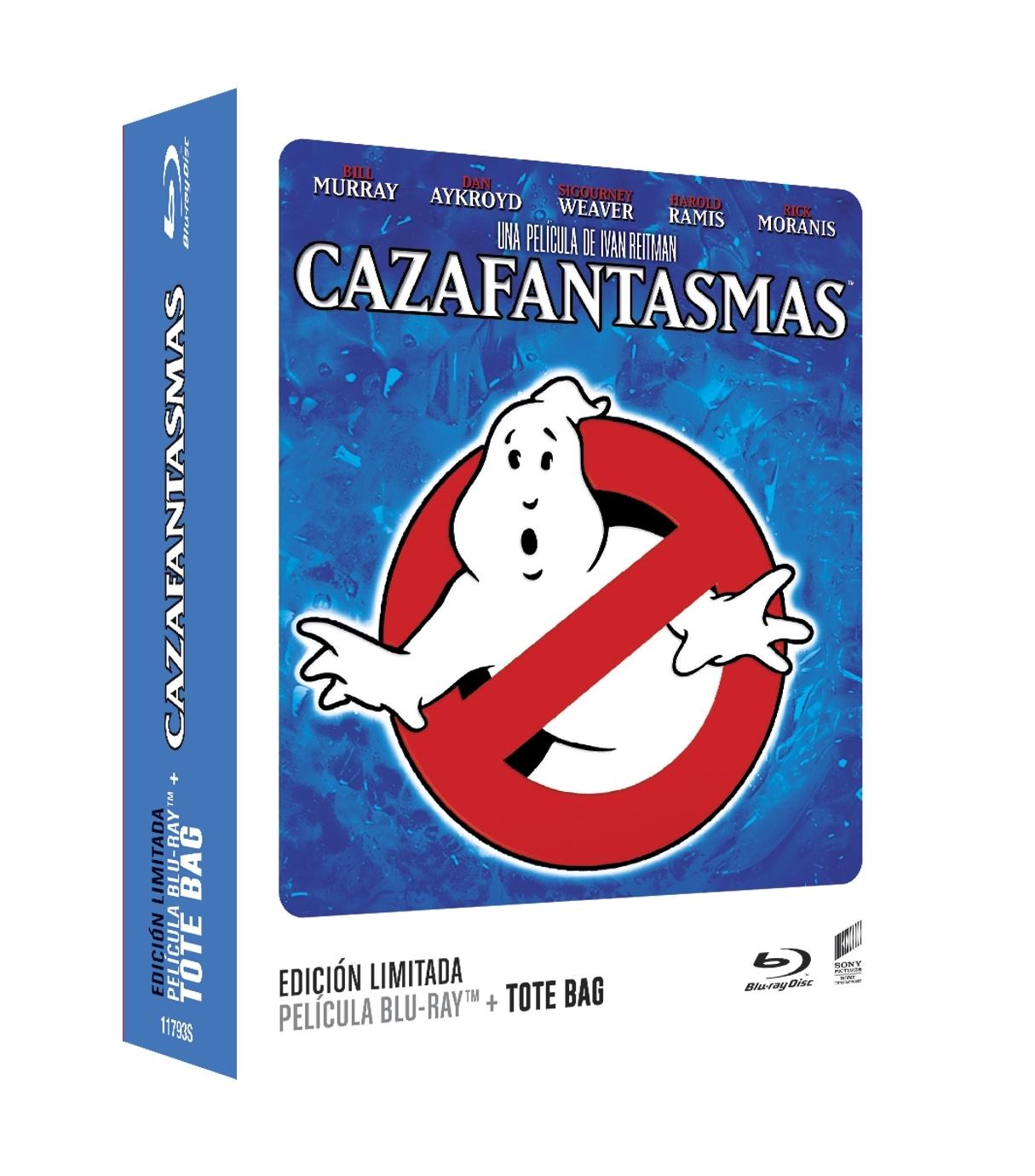 Cazafantasmas (Blu-ray) (ED. Tote Bag)