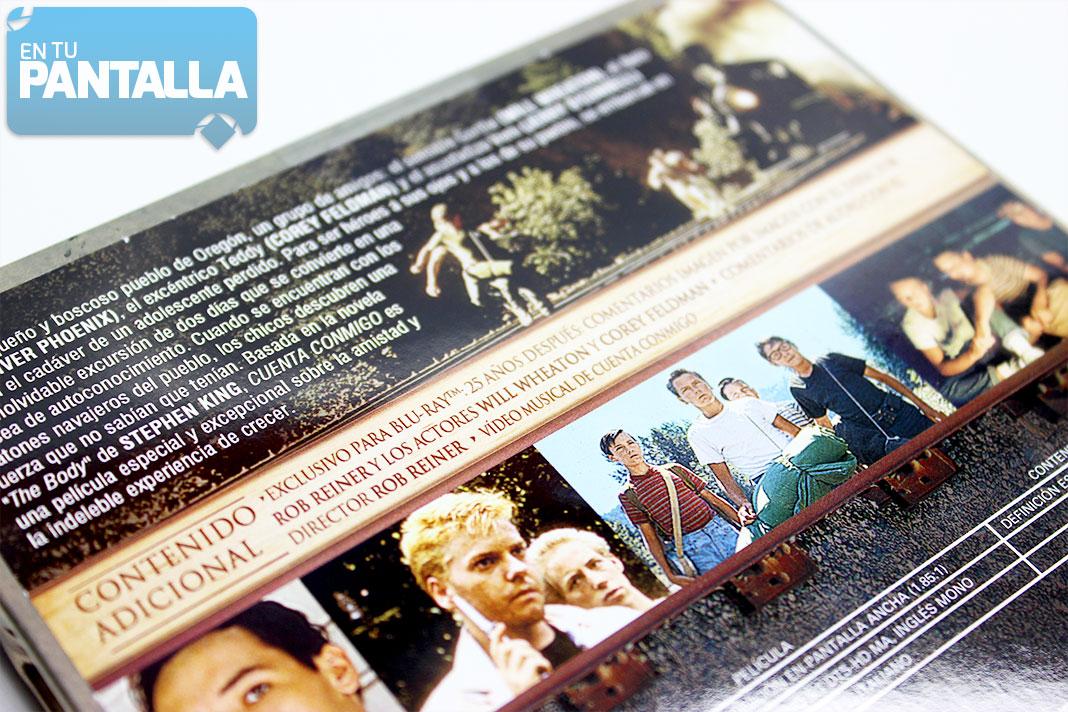 'Cuenta Conmigo' Steelbook Blu-ray