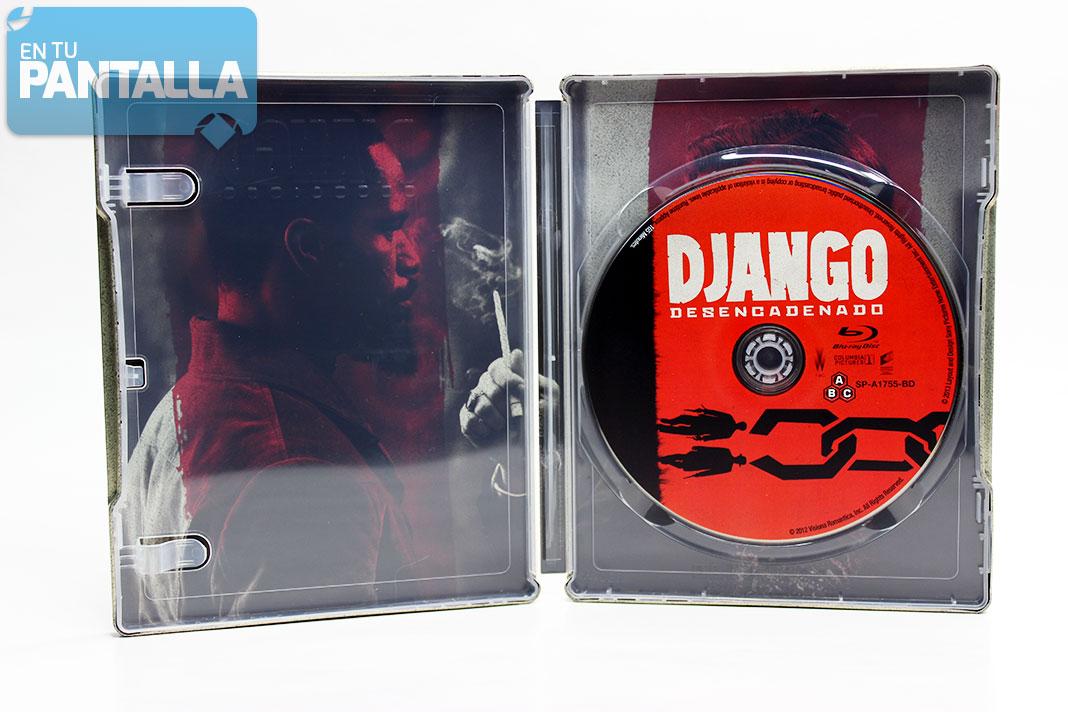 'Django desencadenado' Steelbook Blu-ray