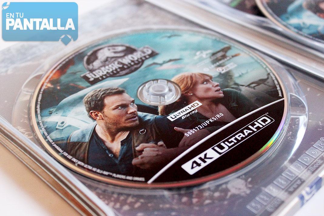 Jurassic World: El Reino Caído - Edición Steelbook 4K Ultra HD
