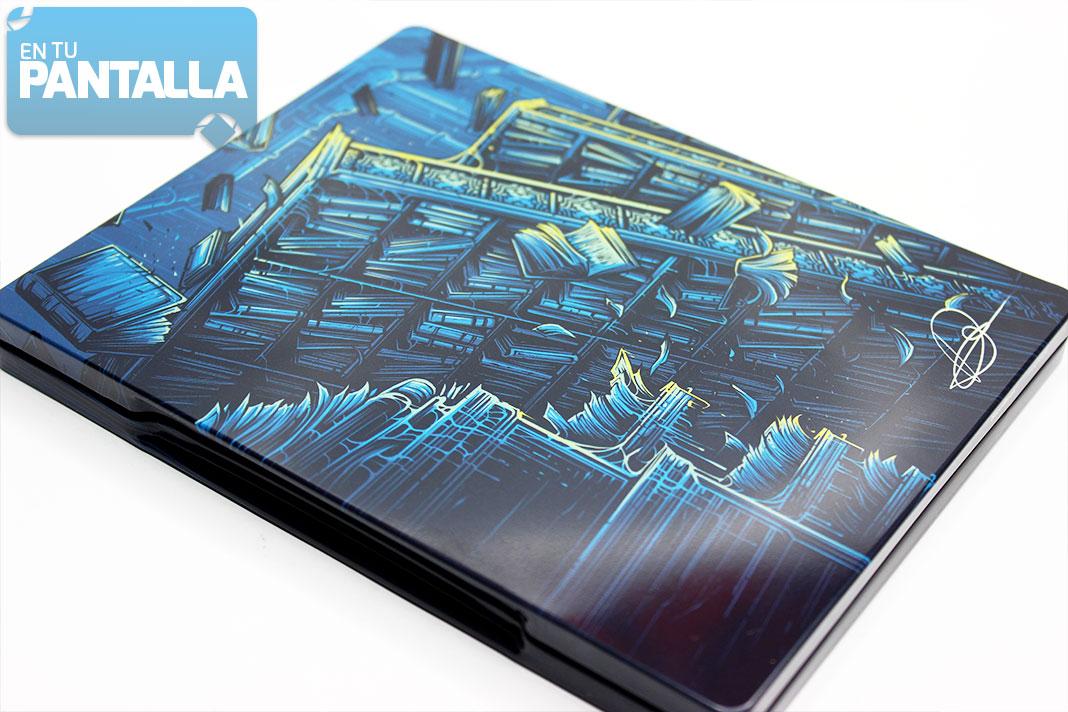 'Los Cazafantasmas' Steelbook Blu-ray ilustrado por Dan Mumford