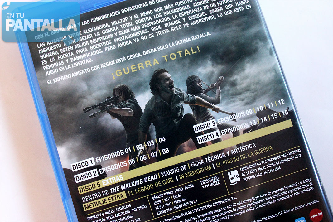 The Walking Dead: Temporada 8 - Blu-ray