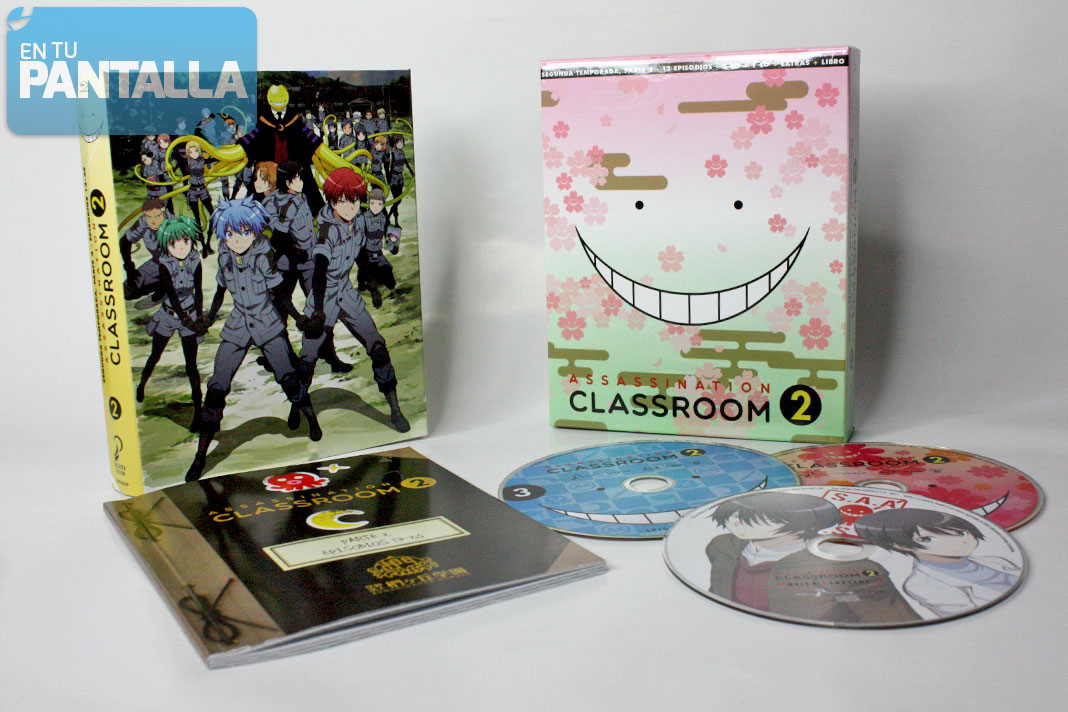 'Assassination Classroom: Temporada 2, Parte 2' Blu-ray | Selecta Visión