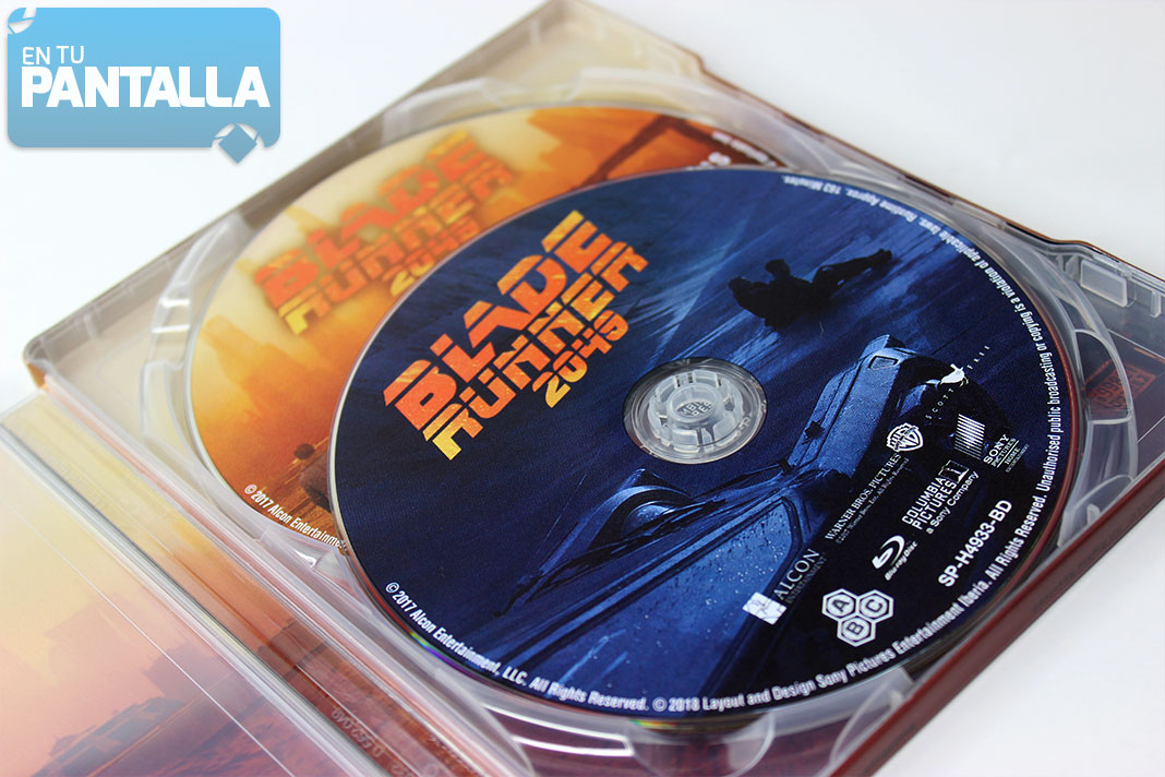 'Blade Runner 2049' Steelbook Blu-ray | Sony Home Video