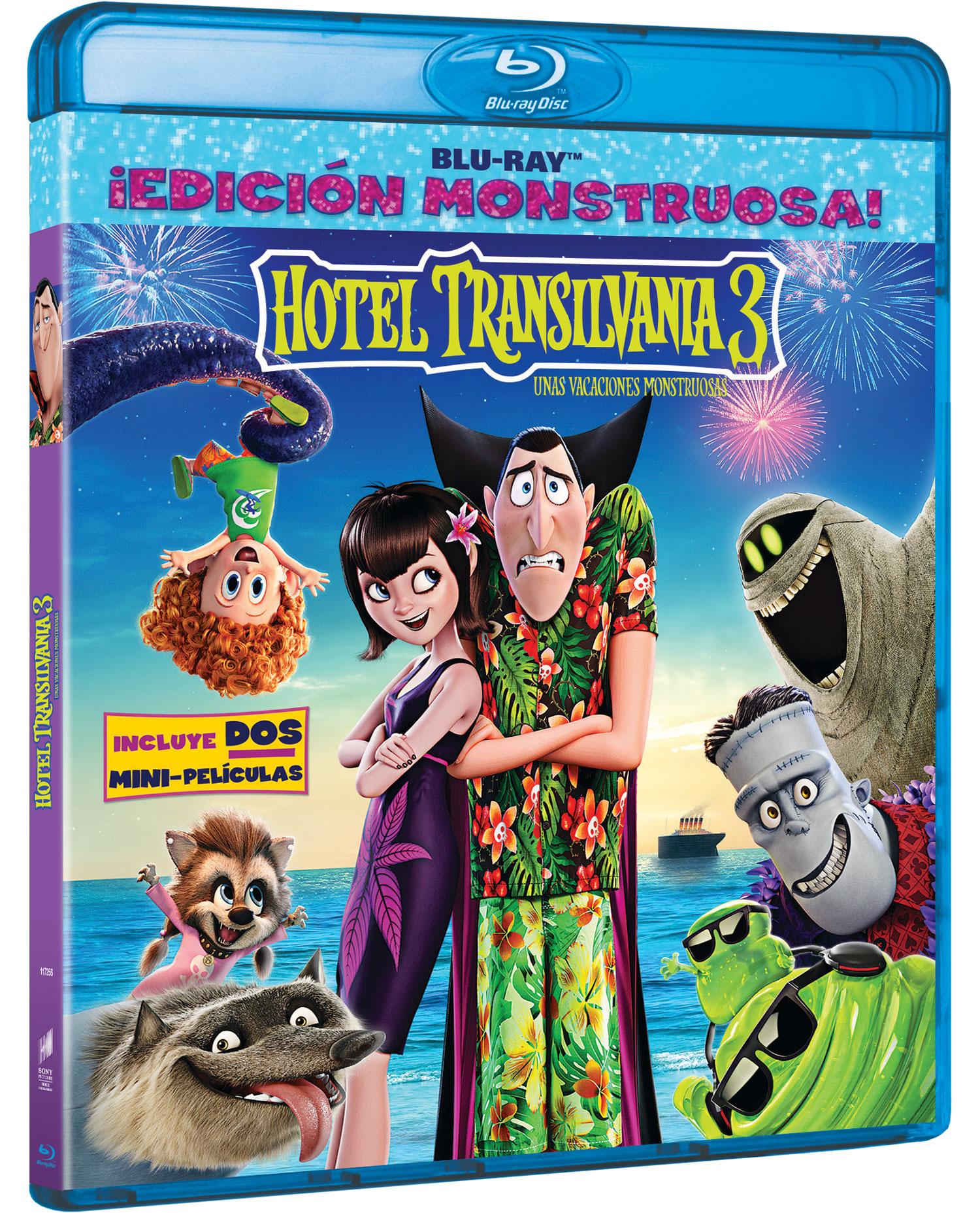 'Hotel Transilvania 3' Blu-ray