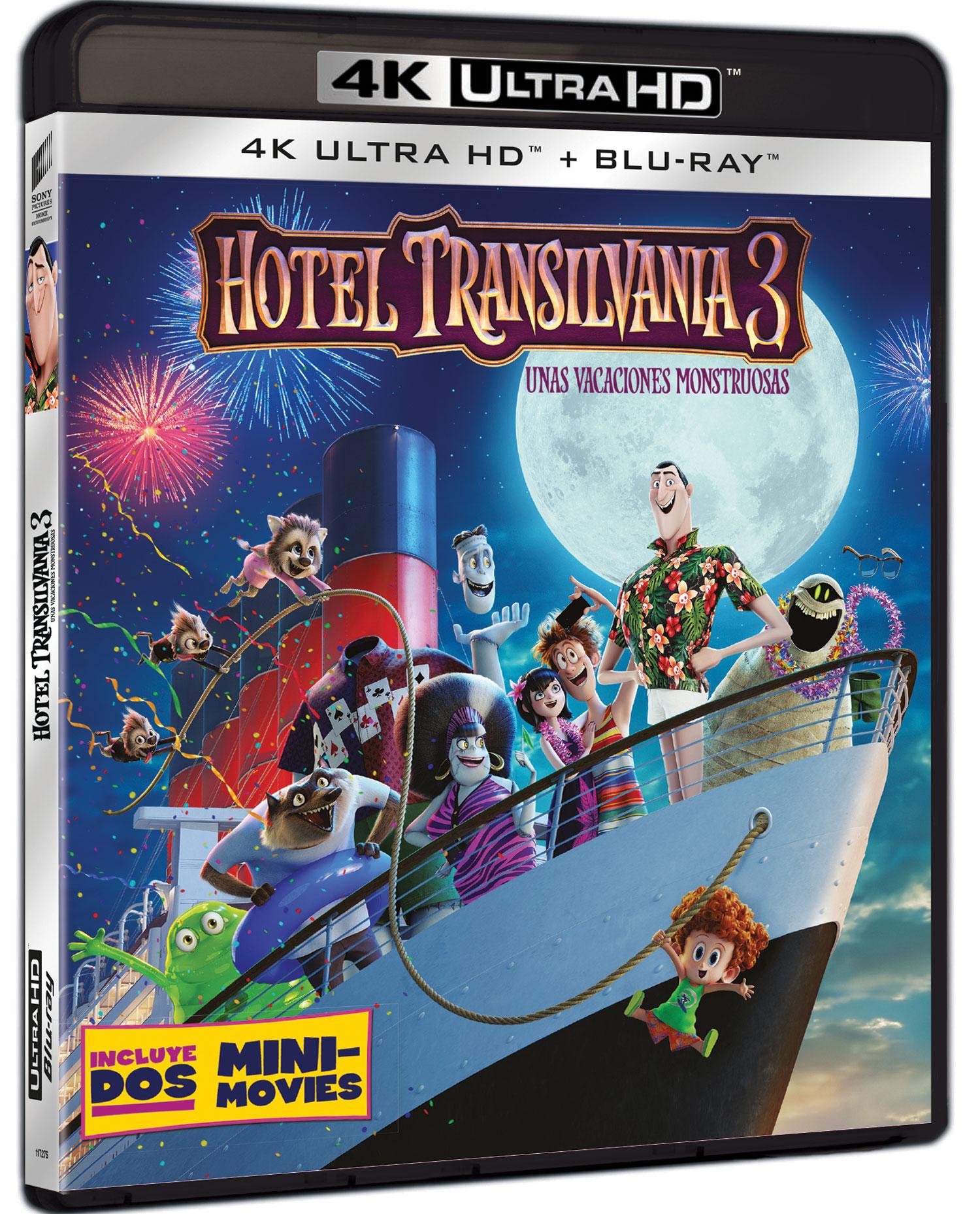 'Hotel Transilvania 3' 4K Ultra HD