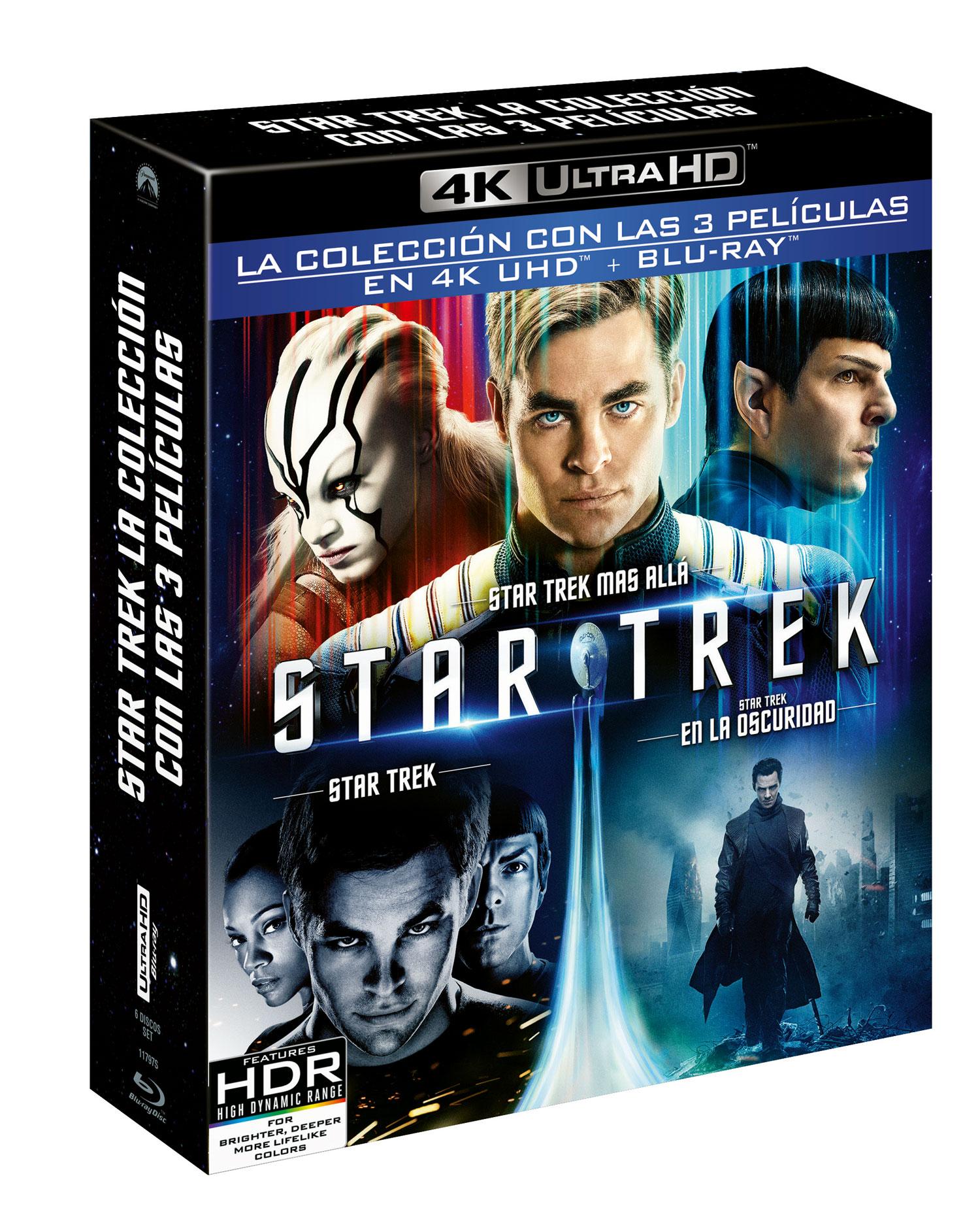 Pack 'Star Trek' 4K Ultra HD