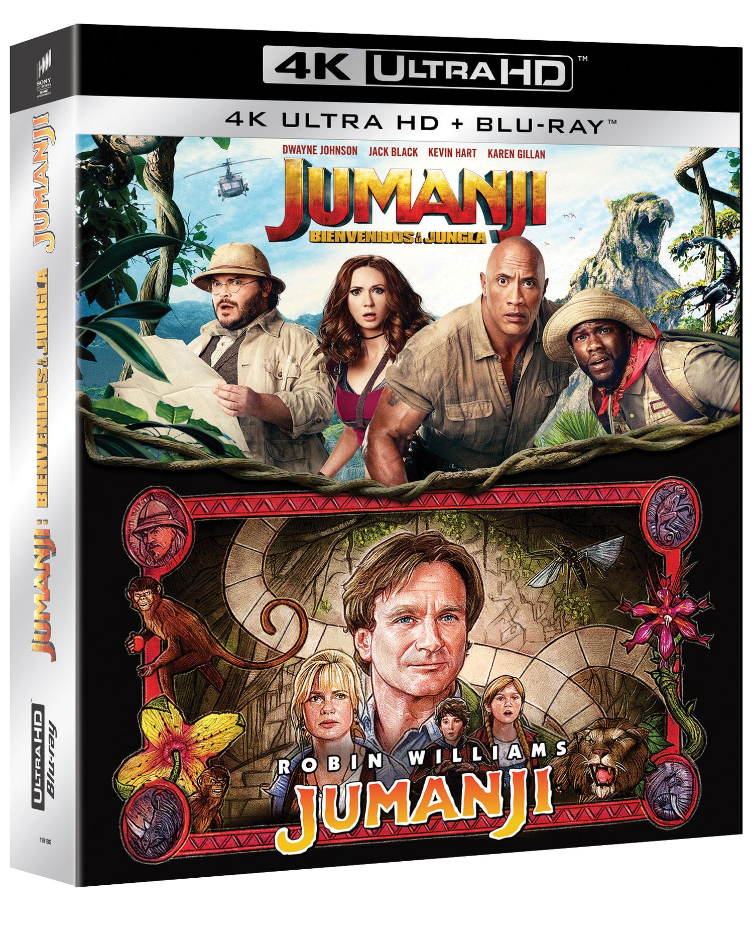 Pack 'Jumanji' 4K Ultra HD