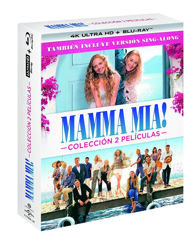 Pack 'Mamma Mia' 4K Ultra HD