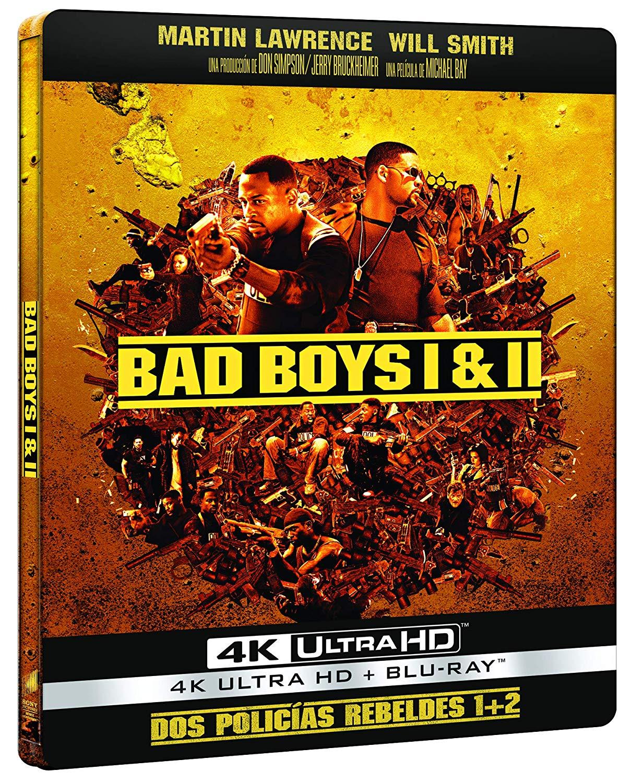 Pack 'Dos policías rebeldes' 4K Ultra HD