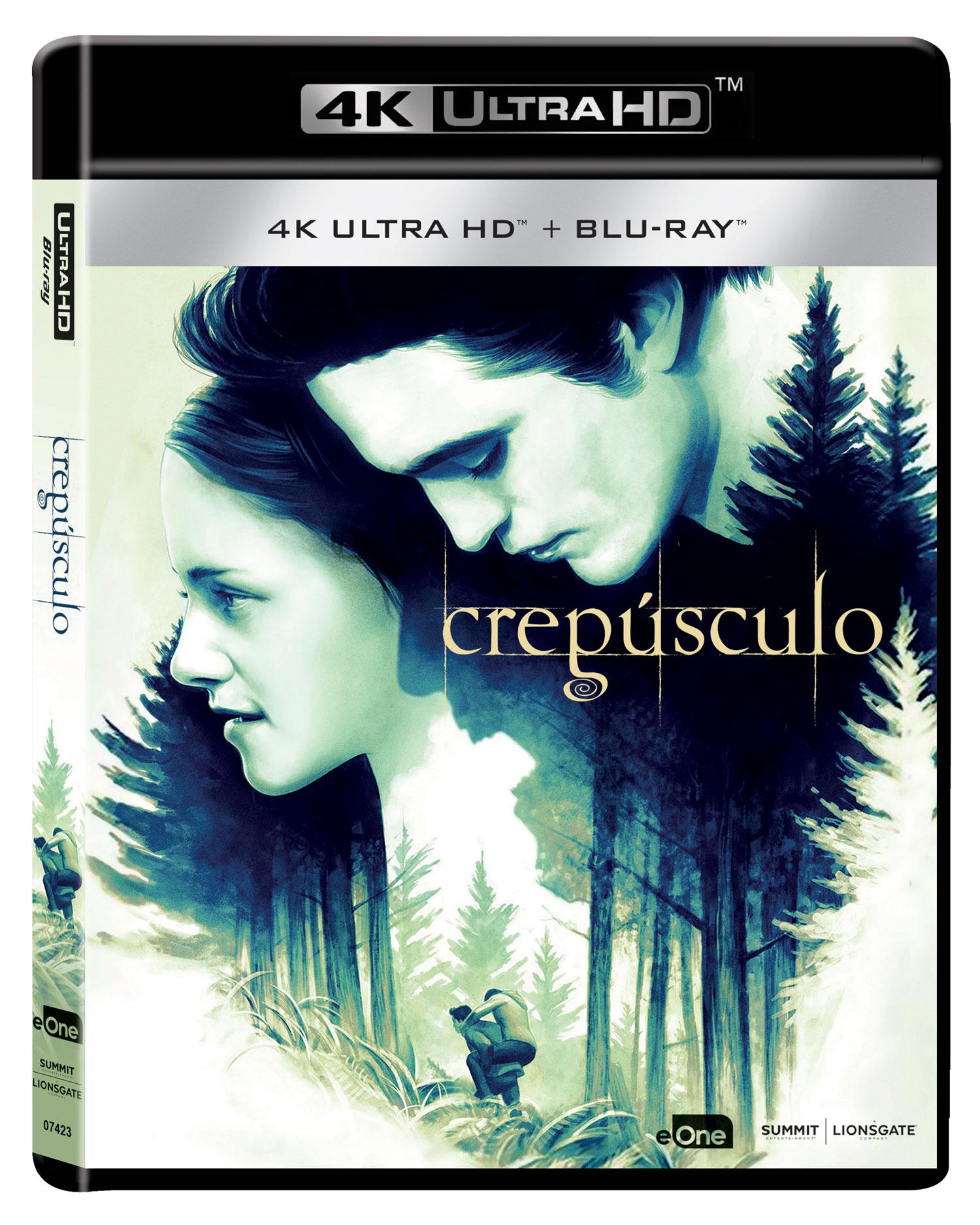 'Crepúsculo' - Carátula edición 4K Ultra HD | eOne España