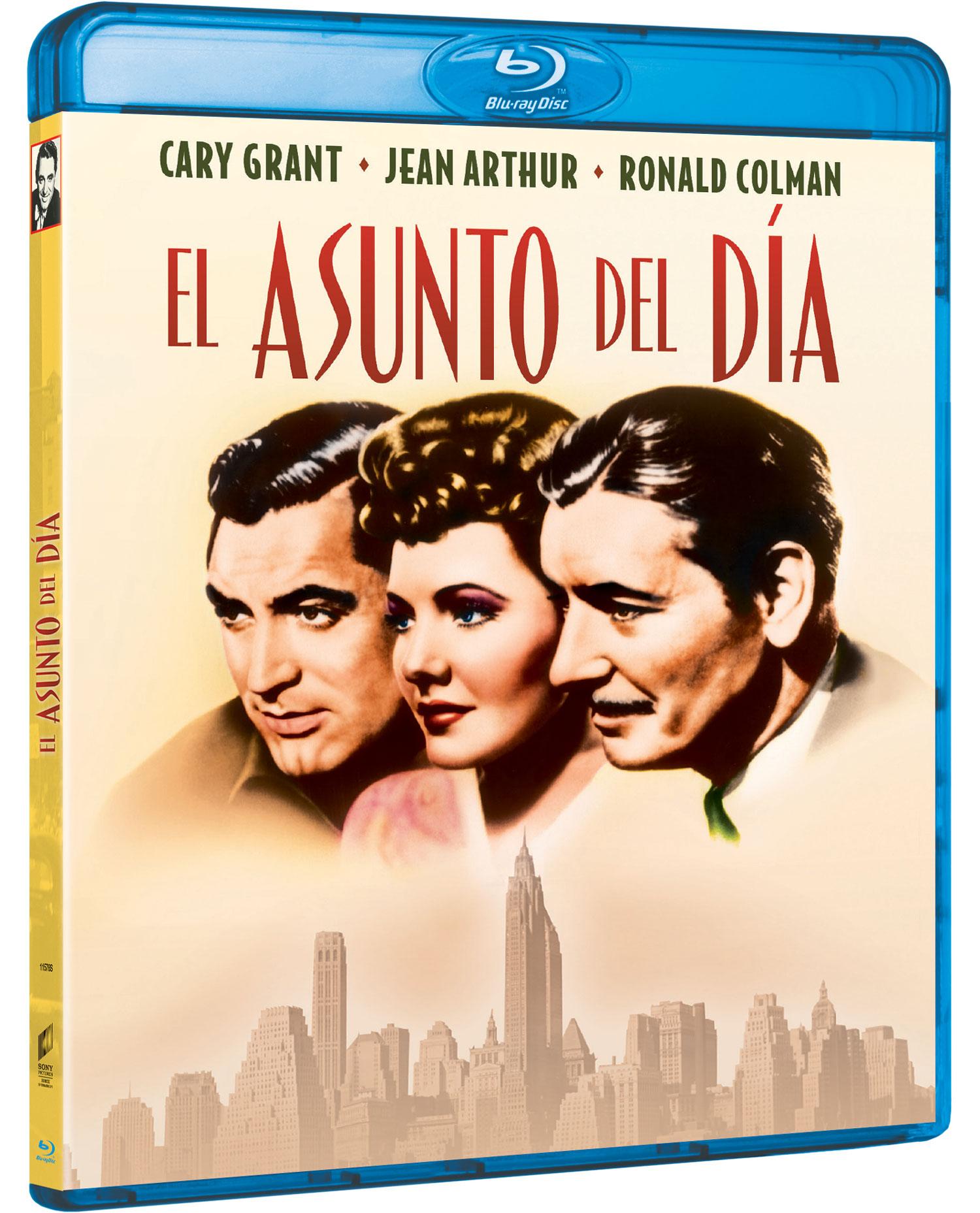 'El asunto del día' Blu-ray | Sony Pictures Video España