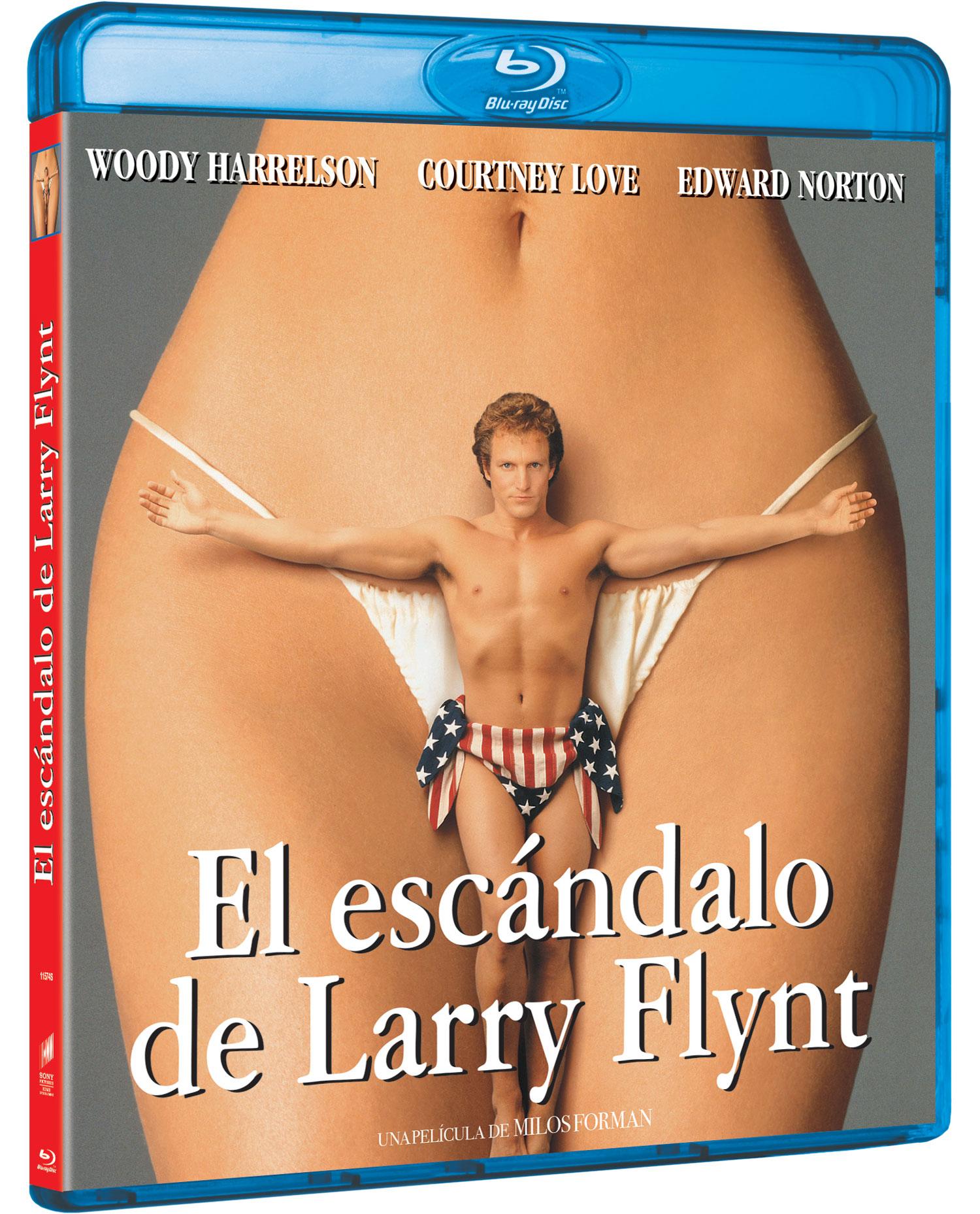 'El escándalo de Larry Flynt' Blu-ray | Sony Pictures Video España