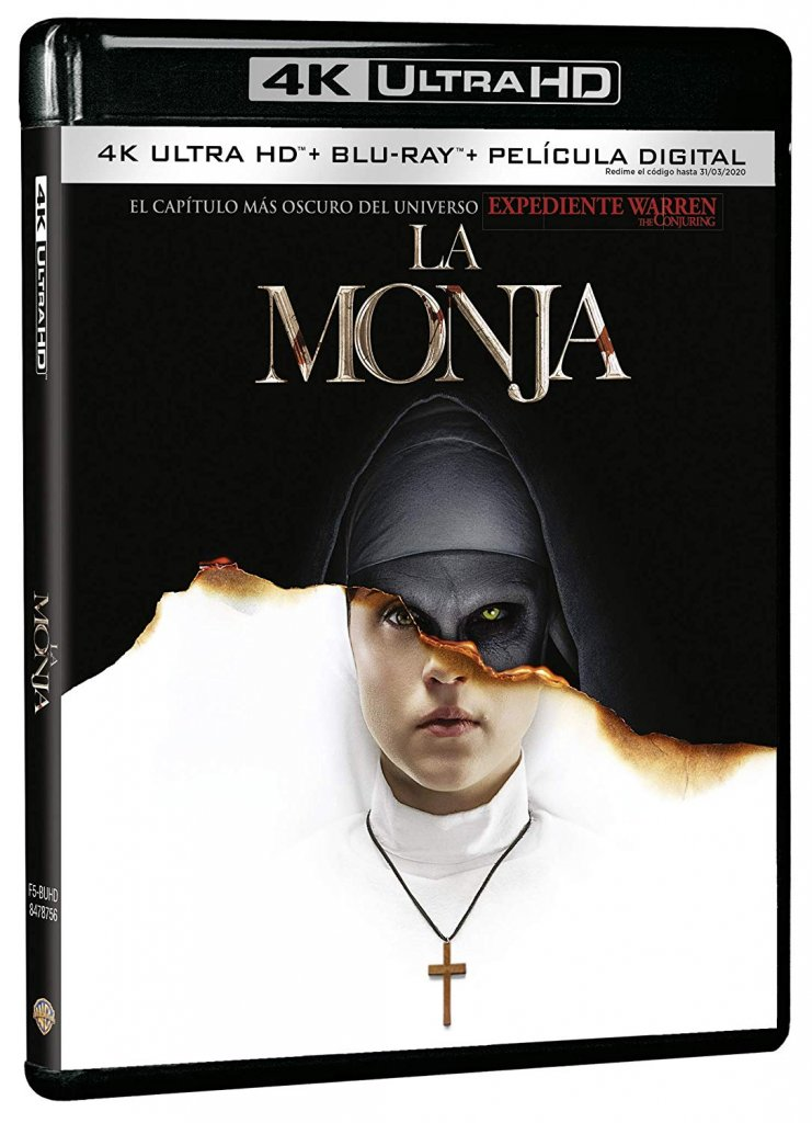 'La Monja' llegará en 4K, Blu-ray y Dvd el 4 de enero • En tu pantalla