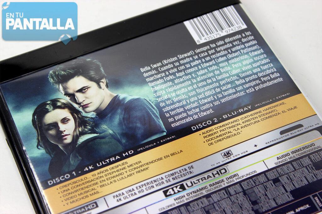 'Crepúsculo' 4K Ultra HD | eOne España