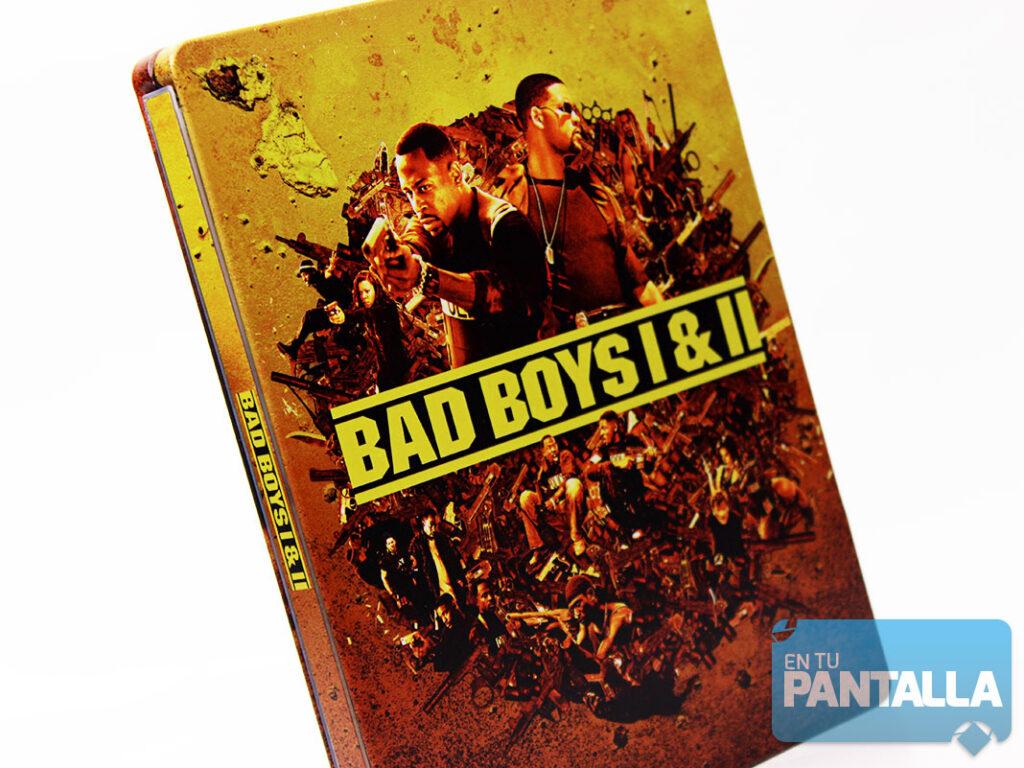 'Dos Policías Rebeldes': Un vistazo al Steelbook 4K Ultra HD con las dos películas