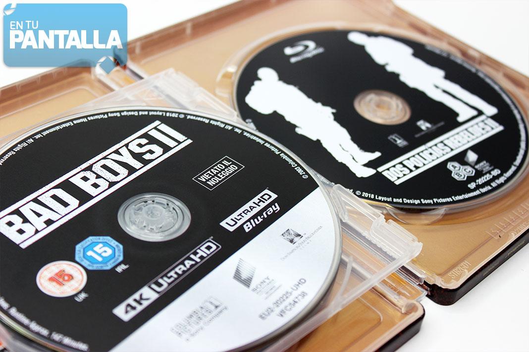 'Dos Policías Rebeldes' Steelbook 4K Ultra HD