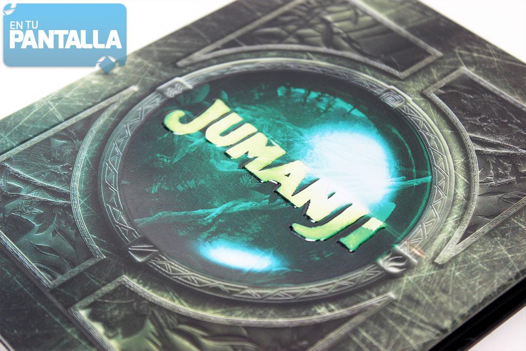 'Jumanji' Steelbook Blu-ray