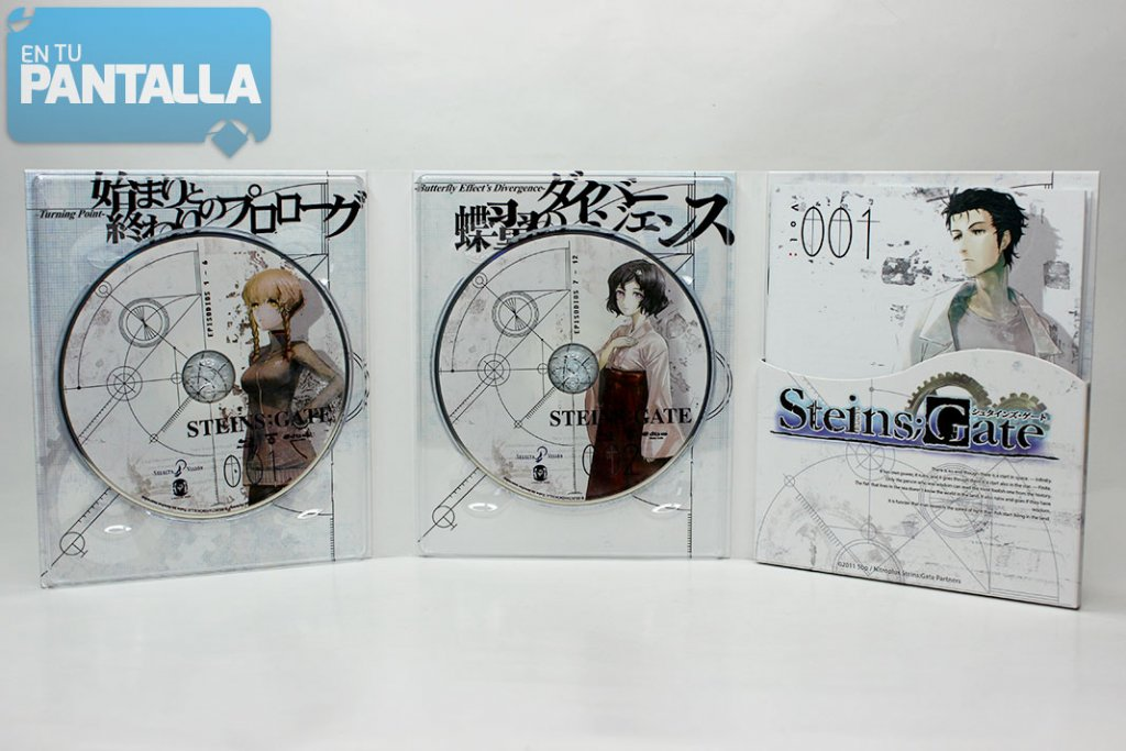 'Steins;Gate: Box 1' Blu-ray | Selecta Visión
