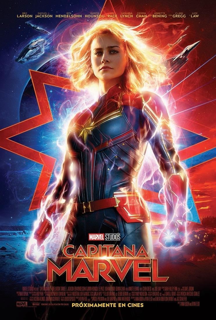'Capitana Marvel' Nuevo Póster