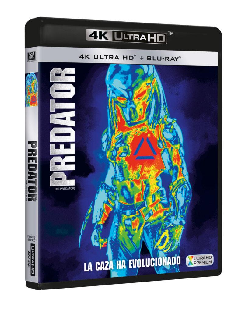 'Predator' llegará el 4 de enero en 4K, Blu-ray y Dvd