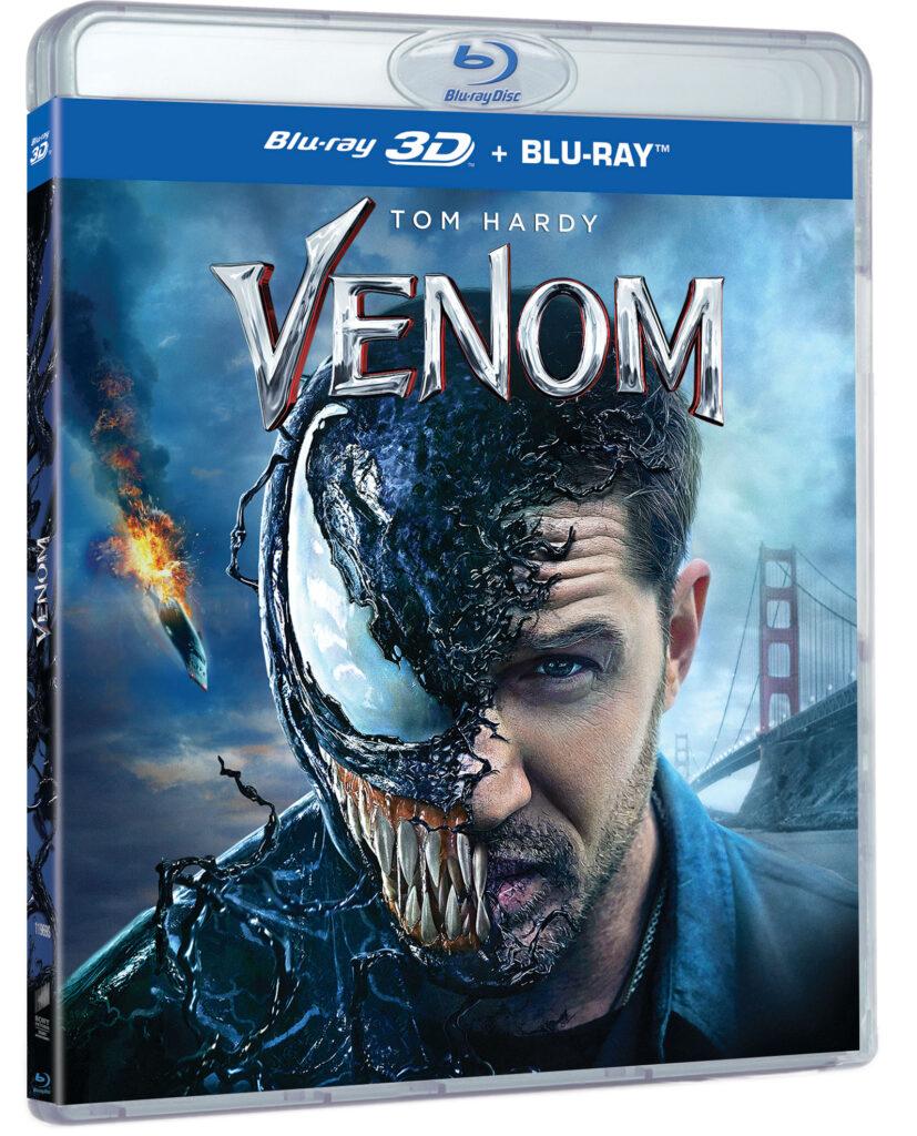 'Venom' llegará el 25 de enero en 4K, Steelbook, Blu-ray y Dvd • En tu pantalla