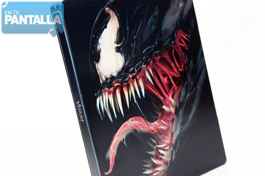 'Venom', un vistazo al steelbook Blu-ray y 3D