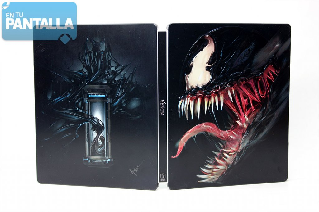 'Venom', un vistazo al steelbook Blu-ray y 3D • En tu pantalla