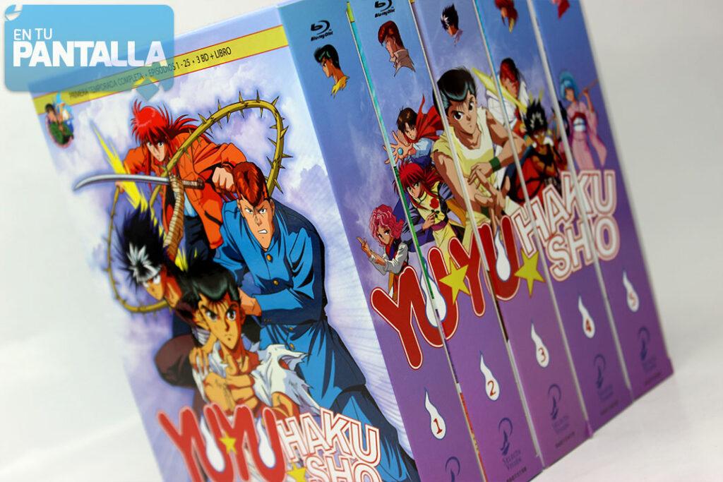'Yu Yu Hakusho': Una colección en Blu-ray de Selecta Visión