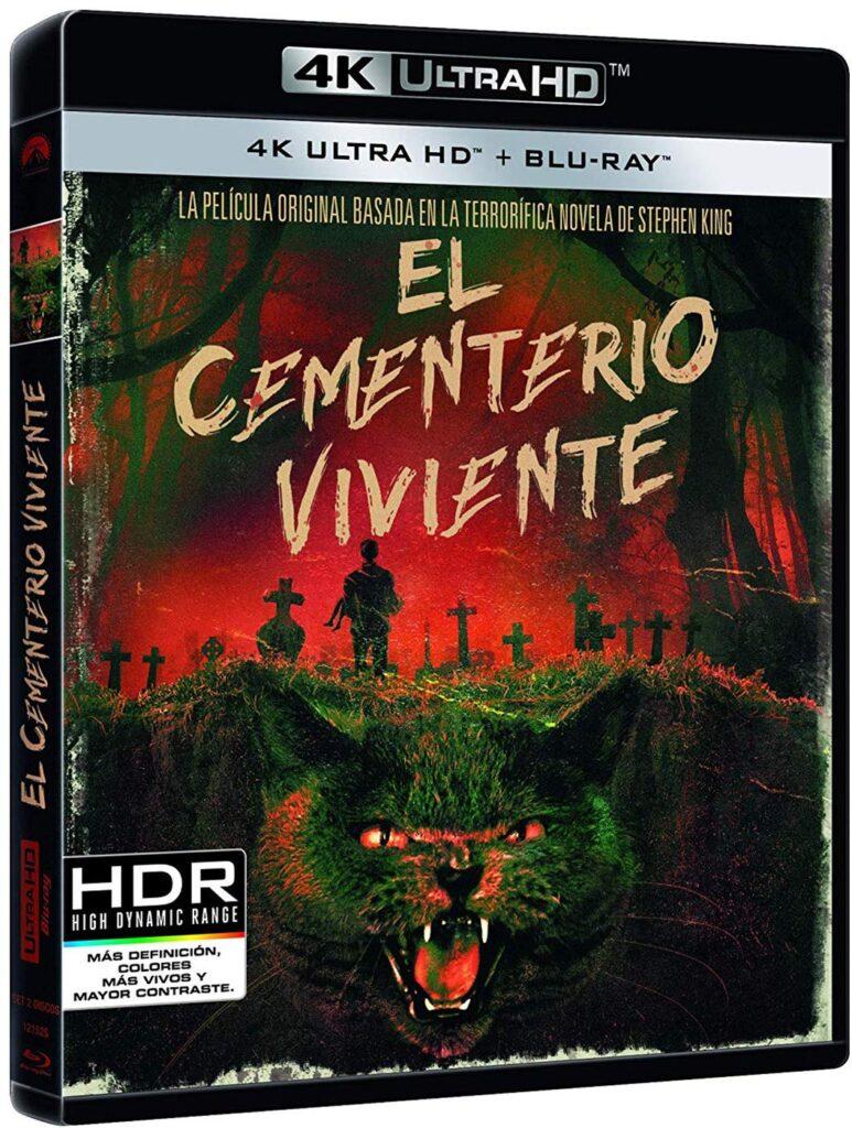 'Cementerio viviente' llegará el 22 de marzo en 4K, Steelbook, Blu-ray y Dvd