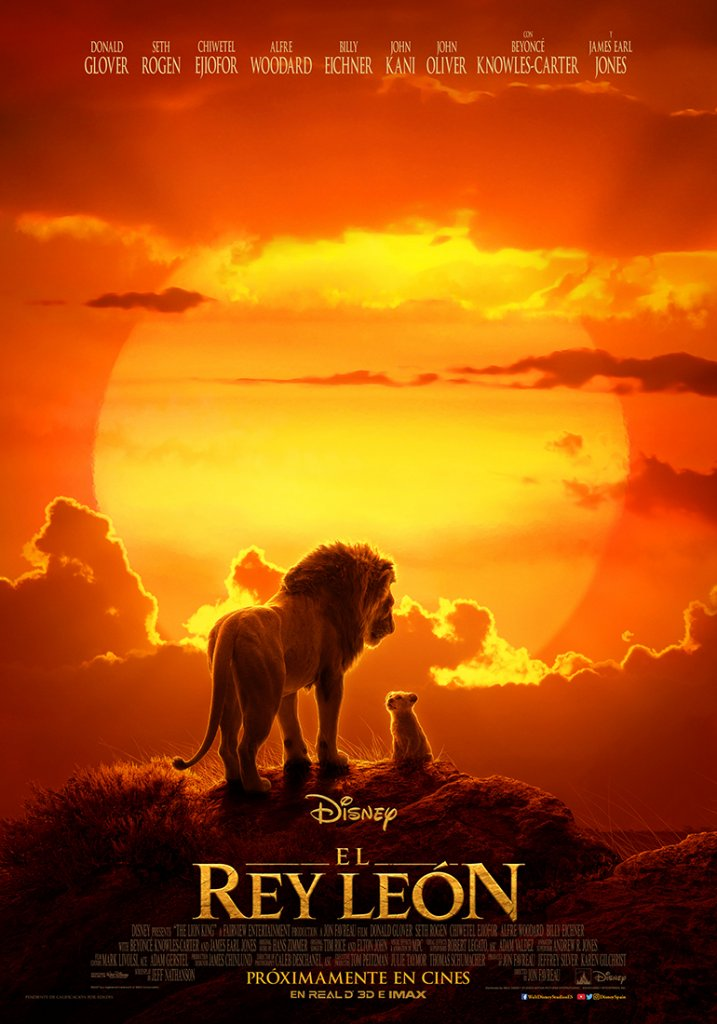 'El Rey León': El póster que nos lleva a sus orígenes • En tu pantalla
