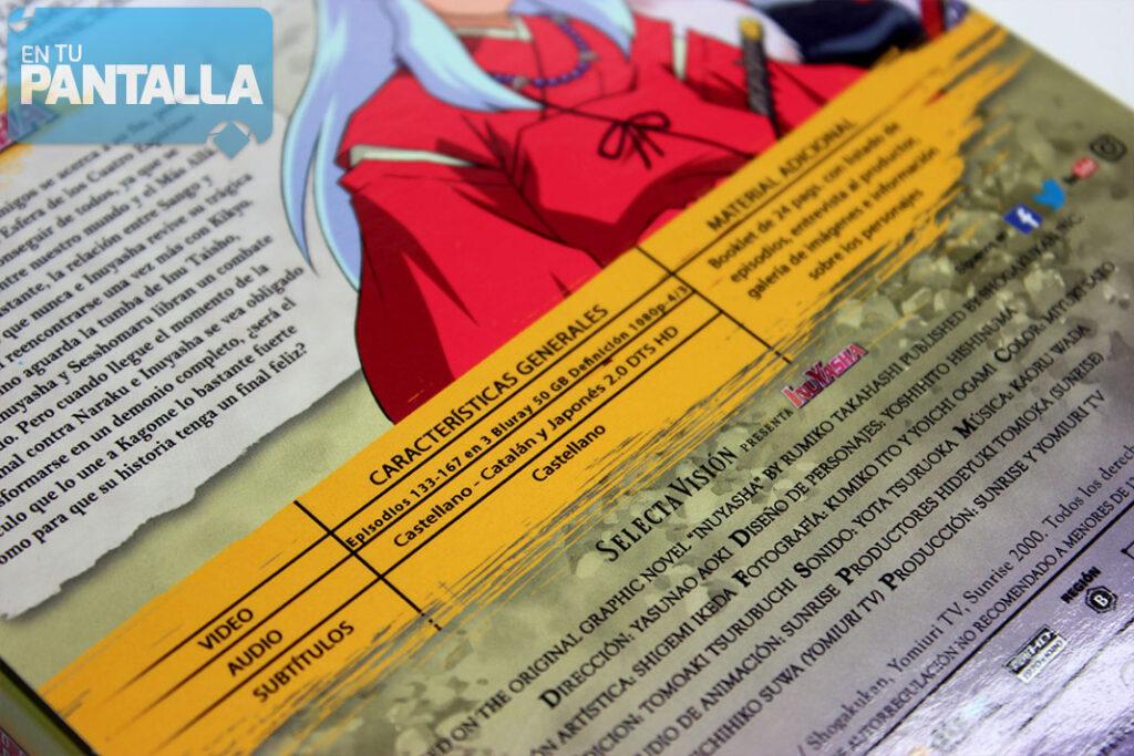 Análisis Blu-ray: 'Inuyasha, Temporada 5', una edición muy esperada • En tu pantalla