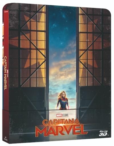 'Capitana Marvel' llegará el 28 de junio en Steelbook, Blu-ray y Dvd