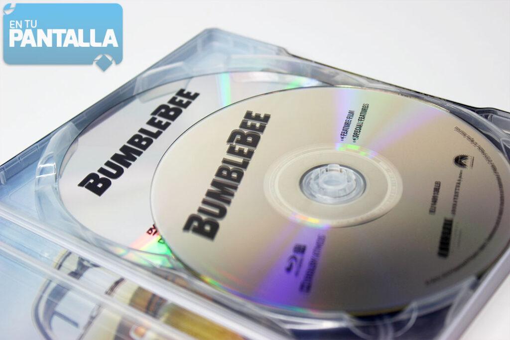 'Bumblebee', un vistazo al Steelbook Blu-ray • En tu pantalla