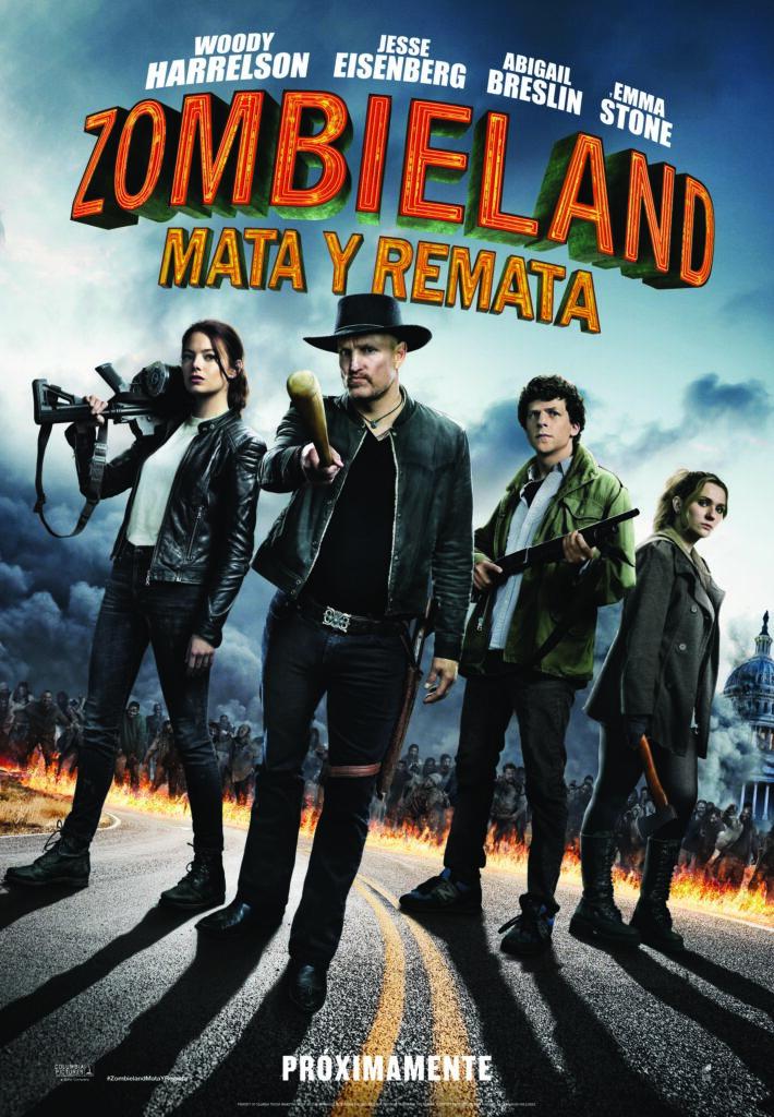 Póster de Zombieland: Mata y Remata, una secuela más loca • En tu pantalla