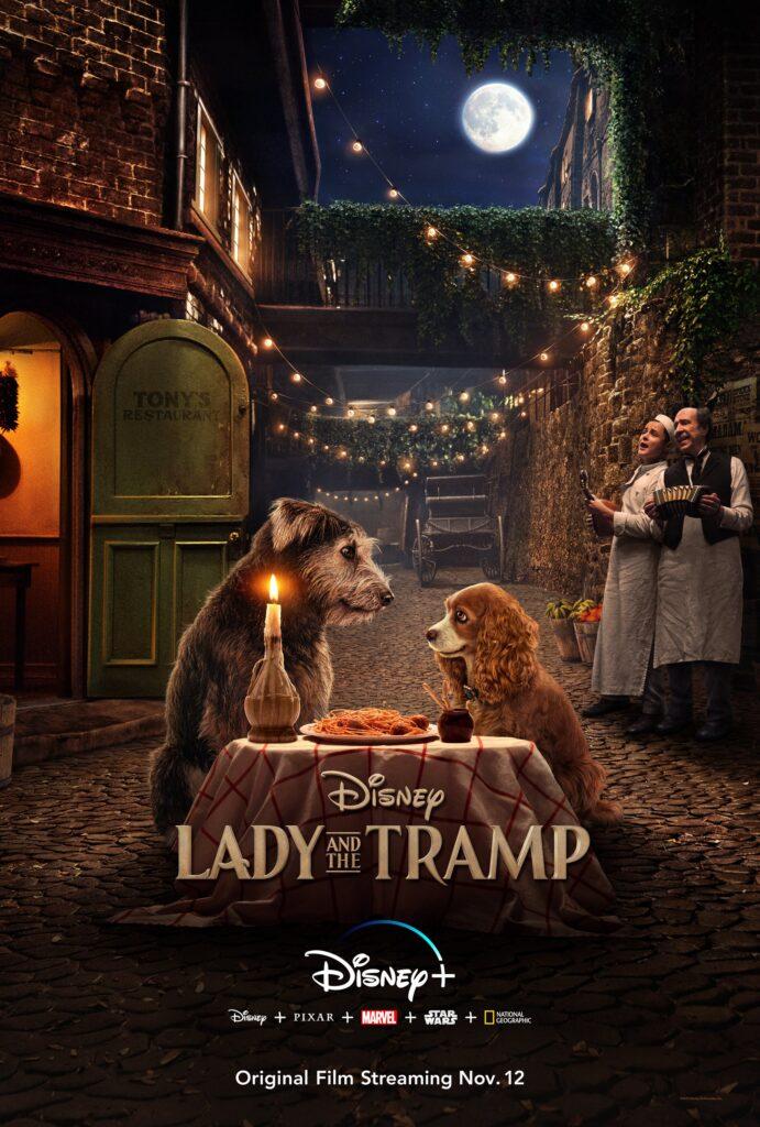 Póster de La dama y el vagabundo de Disney+