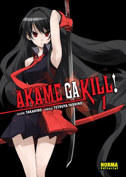 Akame Ga Kill!: Una lucha sangrienta por la paz (Tomos #1-3)