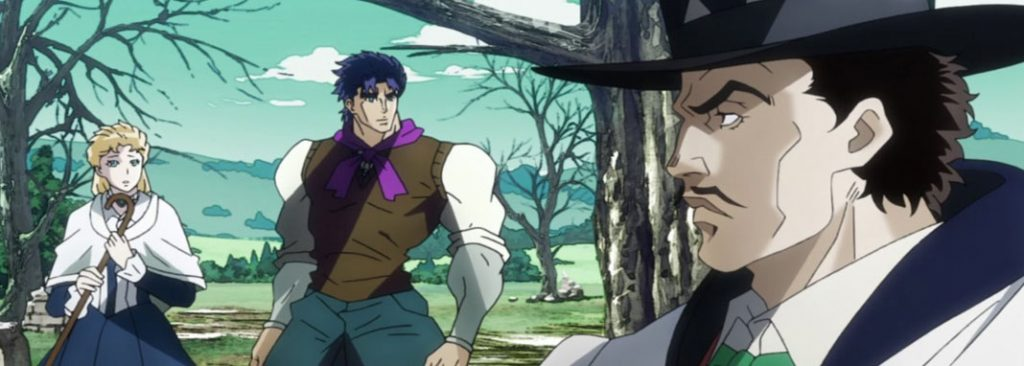 'JoJo's Bizarre Adventure' es un anime difícil de recomendar, pero muy adictivo • En tu pantalla